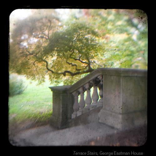Terrace Stairs, George Eastman House ©Emma Powell